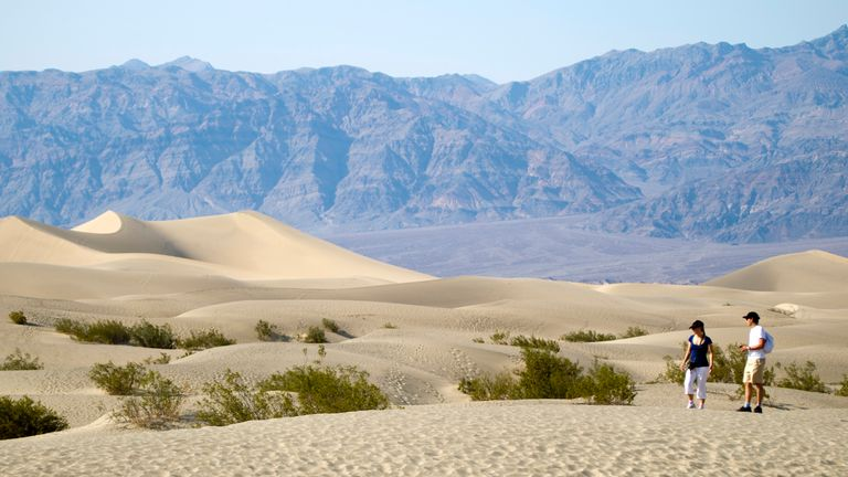 Record-breaking temperatures have been recorded in Death Valley National Park in California