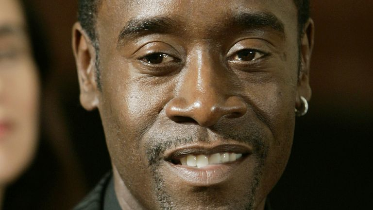 US actor Don Cheadle played Paul Rusesabagina in the 2004 film