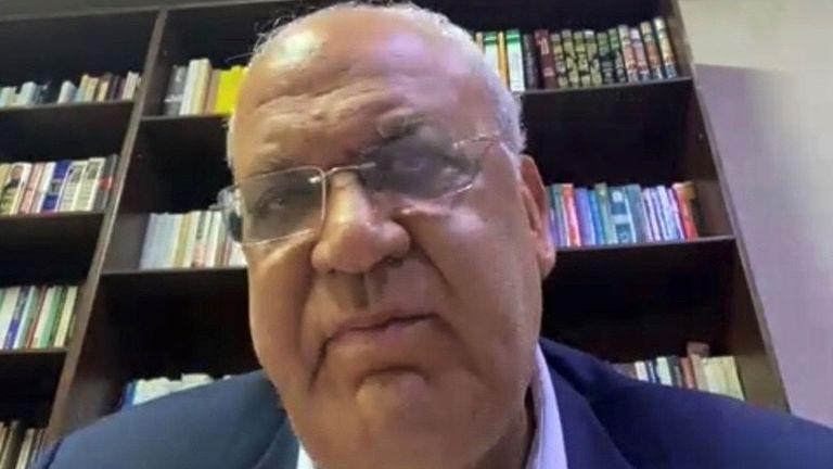 Dr Saeb Erekat