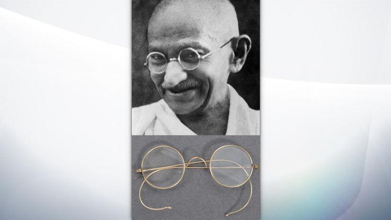 Mahatma Gandhi's glasses will go on sale on 21 August