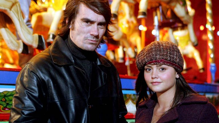 'Emmerdale' Jeff Hordley and Jenna-Louise Coleman