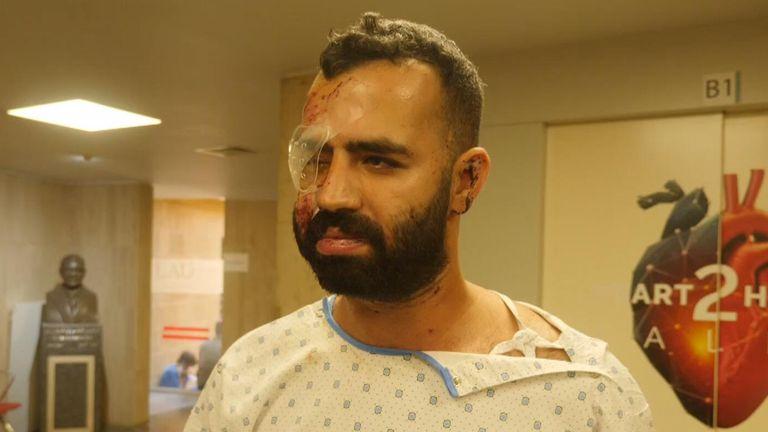 Beirut surge victim