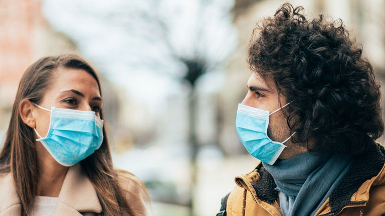 Research has found people wearing masks are more likely to flout social distancing rules