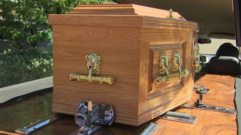 Some funeral costs have not changed, despite fewer people attending