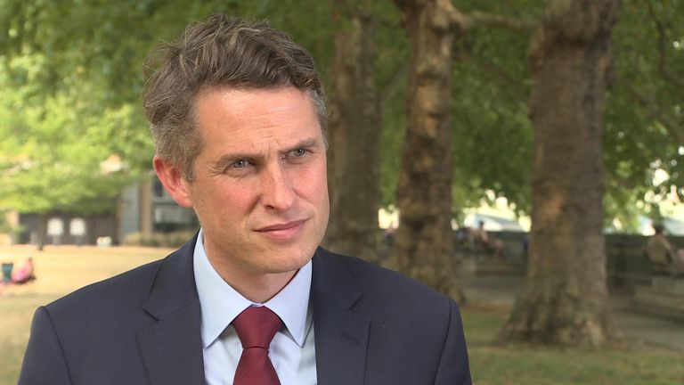Gavin Williamson said the 'triple lock' will benefit pupils