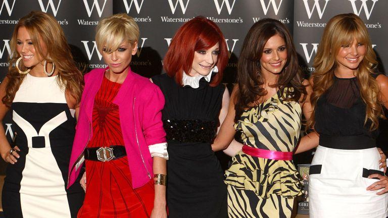 Girls Aloud - Kimberley Walsh, Sarah Harding, Nicola Roberts, Cheryl, Nadine Coyle
