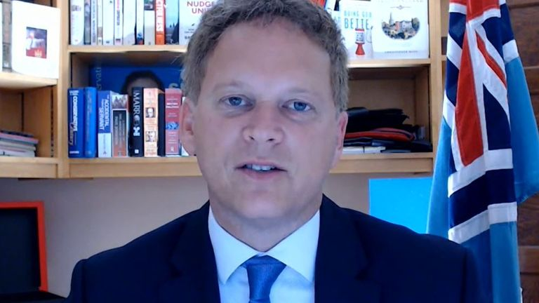 Grant Shapps says he thinks common sense will prevail between employers and employees