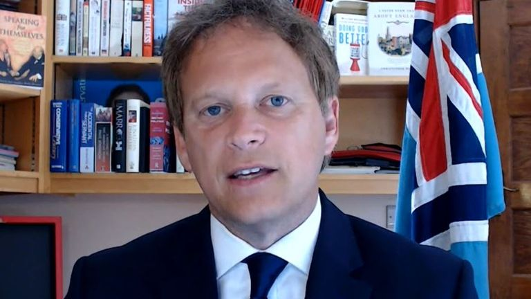 Grant Shapps justifies the UK putting France on coronavirus quarantine list