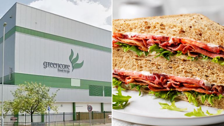 The Greencore factory in Northampton make sandwiches for M&S