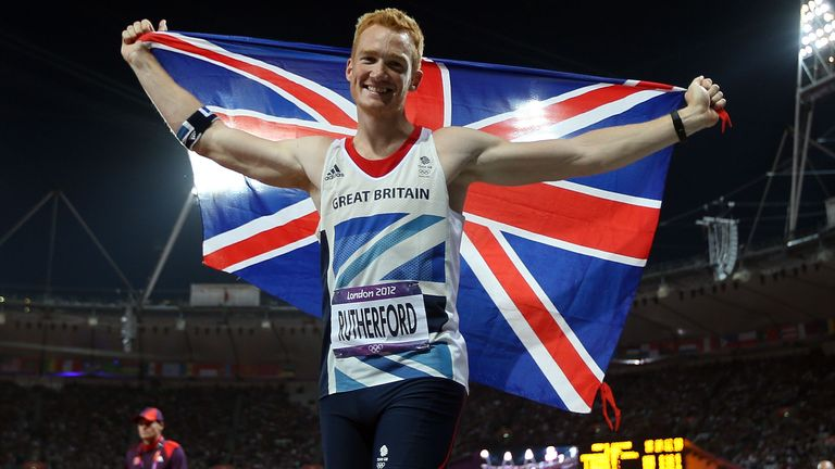 Greg Rutherford was part of 'Super Saturday' at the London 2012 Olympics