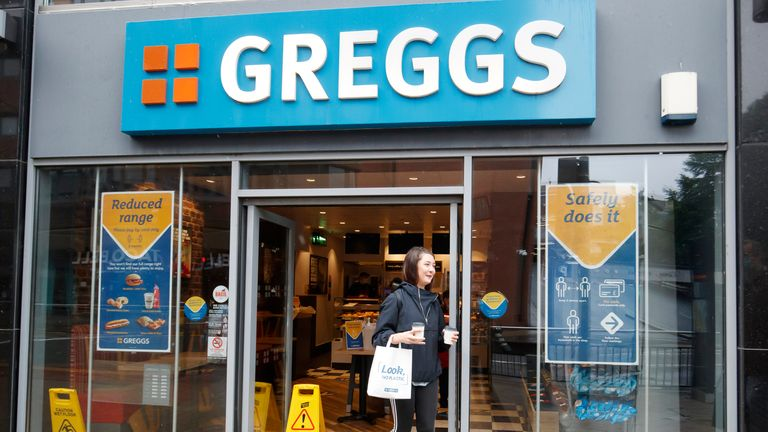 Greggs' Leeds distribution centre has had an outbreak