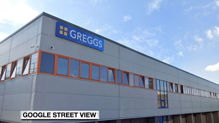A number of staff at a Greggs distribution depot in Elmfield Way, Bramley, have tested positive