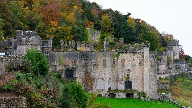Gwrych Castle in Abergele