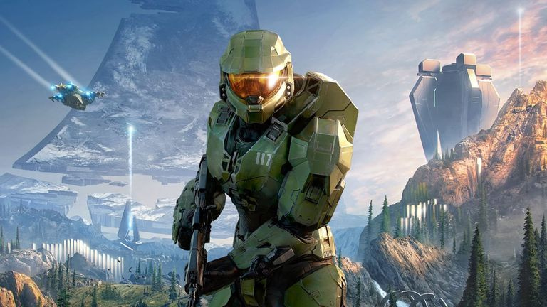 The new Xbox console will be launched without Halo Infinite. Pic: Microsoft