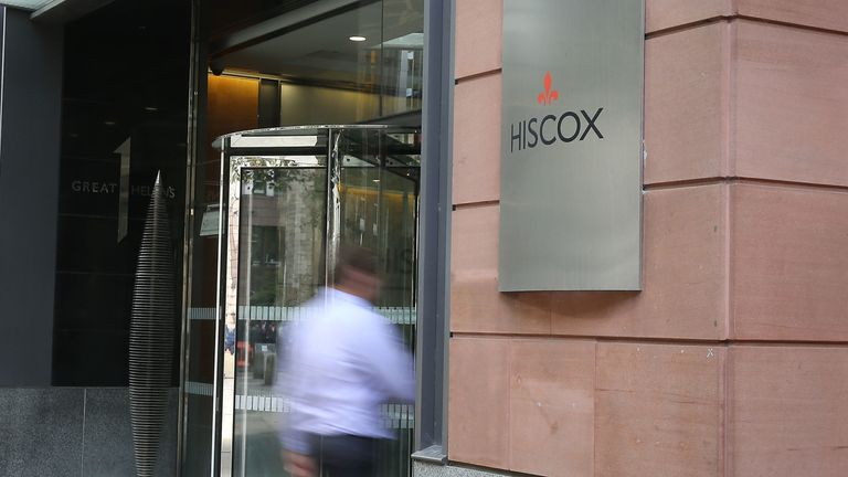 Hiscox offices at 1 Great St Helen's in central London