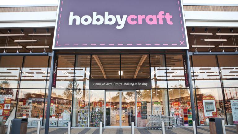 Hobbycraft store