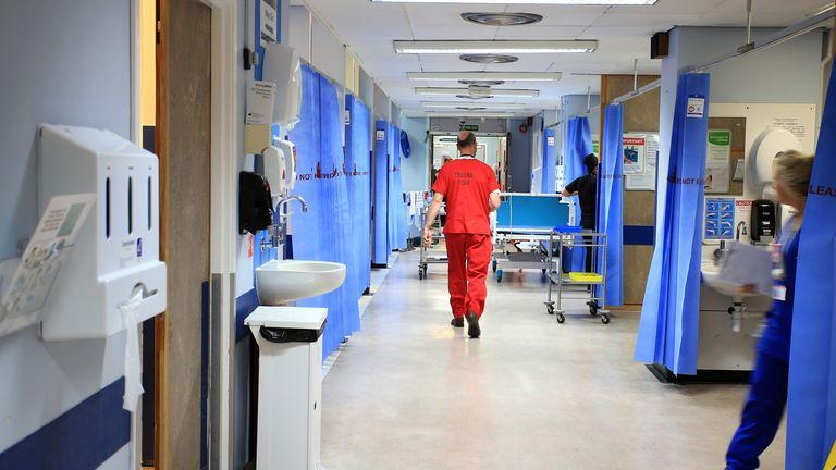 A ward at the Royal Liverpool University Hospital