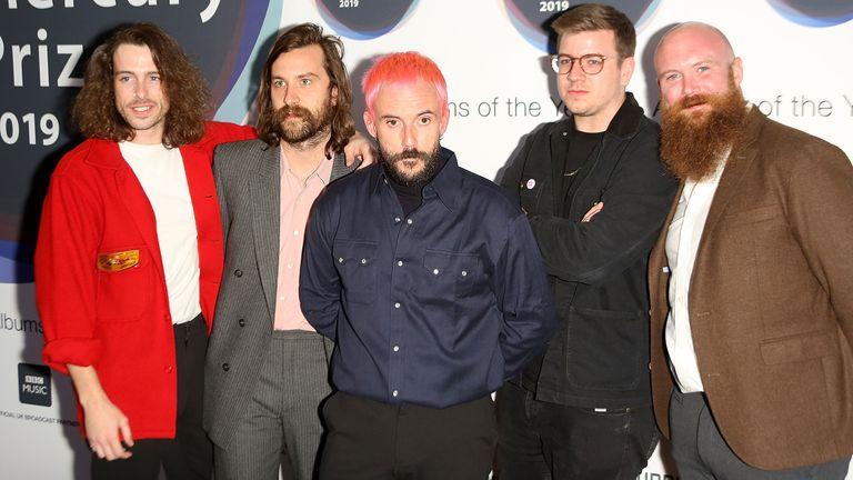 Idles at the 2019 Hyundai Mercury Prize: Albums of the Year at the Eventim Apollo, Hammersmith, on September 19 2019 in London