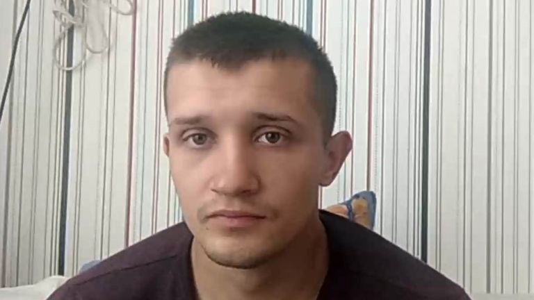 Igor Kviatko, 23, was imprisoned and beaten after the taxi he was going home in from work was stopped by police