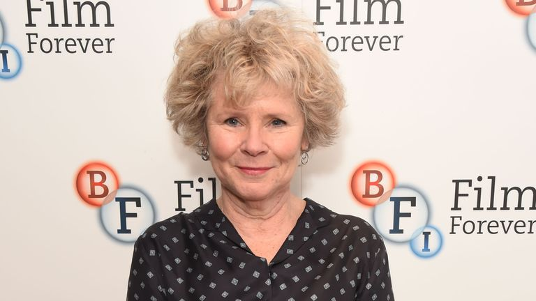 "LONDON, ENGLAND - DECEMBER 14: Imelda Staunton attends a screening of ""West Side Story"" with introduction by Imelda Staunton at the BFI Southbank on December 14, 2019 in London, England. (Photo by David M. Benett/Dave Benett/Getty Images)"