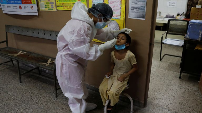 India has hit two million coronavirus cases