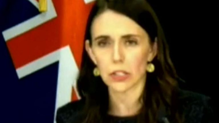 Jacinda Ardern announces that Auckland will go into lockdown for three days