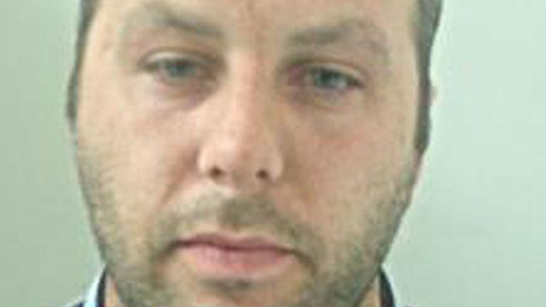 James Majury. Pic: Lancashire Constabulary