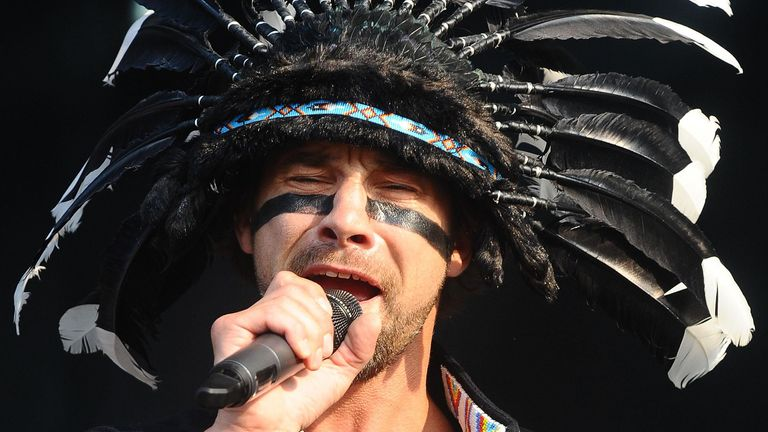 Popstar Jamiroquai's Buckinghamshire mansion was also targeted in the raids
