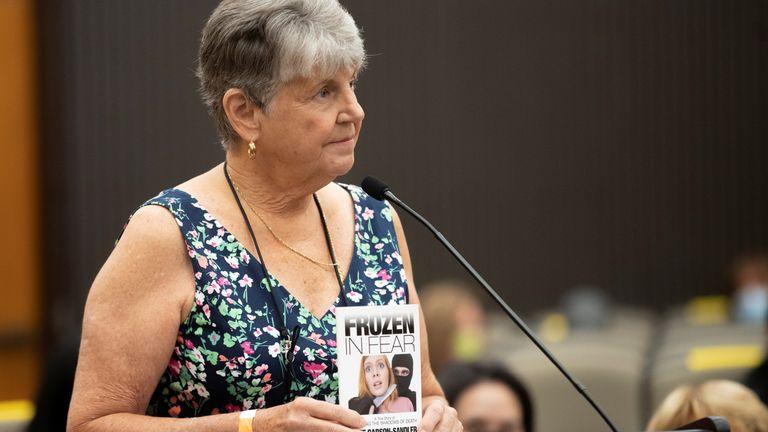 Jane Carson-Sandler said DeAngelo will remain in prison until he dies