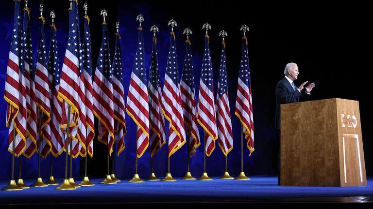 Joe Biden has accepted the Democratic presidential nomination