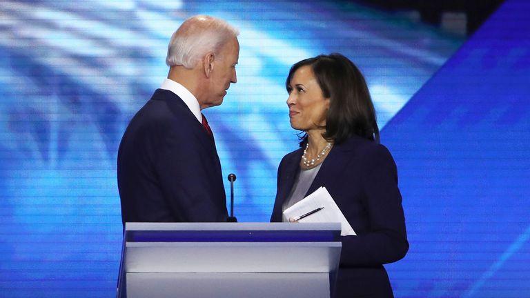 Joe Biden has confirmed Senator Kamala Harris as his VP running mate