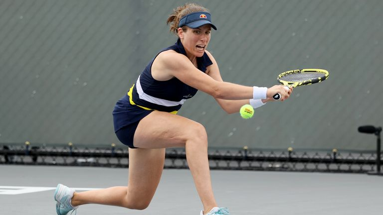 Johanna Konta lost the game at the Top Seed Open on Monday