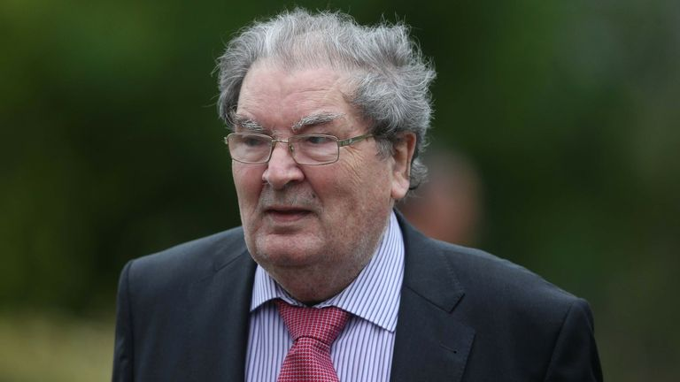 John Hume committed his life to the pursuit of Irish unity by peaceful means
