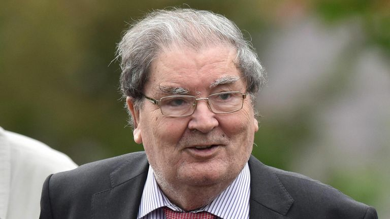 John Hume SDLP leader