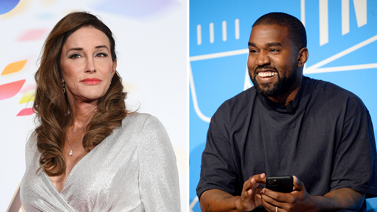 Jenner (L) said that Kanye West is 'loving' and 'kind'