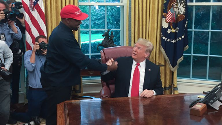 Kanye West is still getting support from Republicans despite their allegiances to Donald Trump