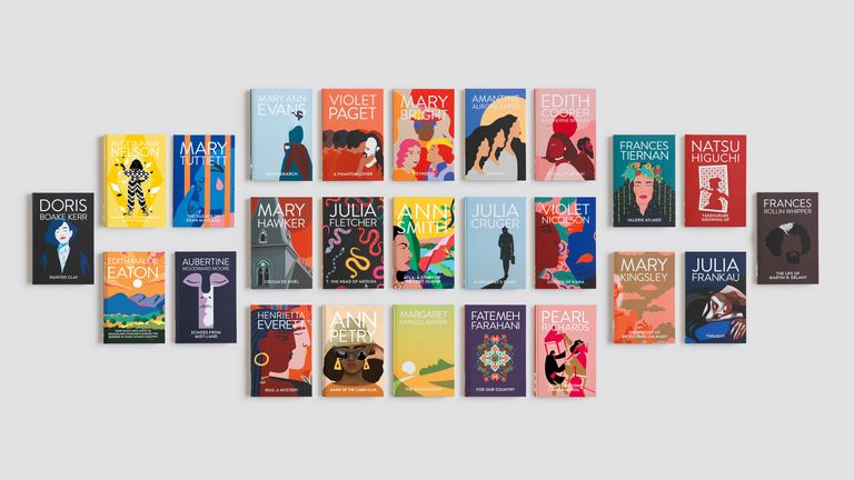 There are 25 novels from women all around the world who used male pseudonyms. Pic: Baileys