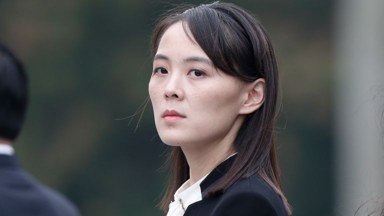 Kim Yo Jong, sister of North Korea's leader Kim Jong Un, is said to have adopted more powers