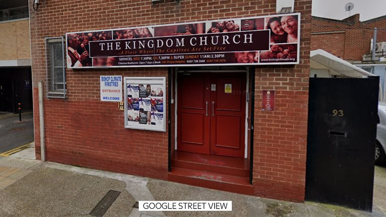 The Kingdom Church in Camberwell, south London