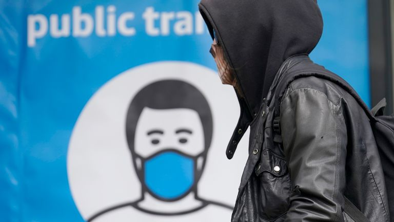 From today, face coverings will have to be worn in more settings across England