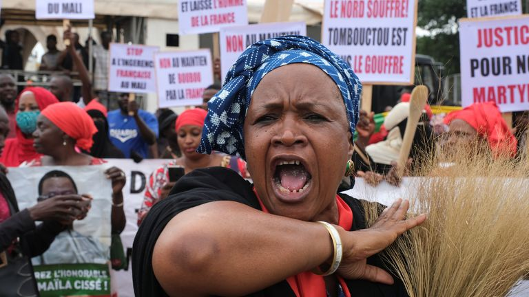 Protests demanding the resignation of Mali's President Ibrahim Boubacar Keita boiled over in Bamako