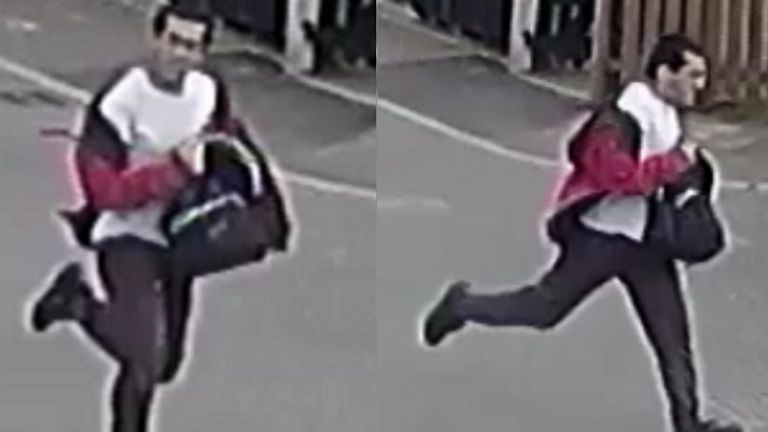 Police have released images of the man they want to speak to