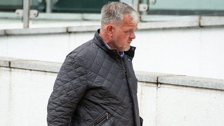 Mark Lerigo arrives at Warwick Crown Court for sentencing