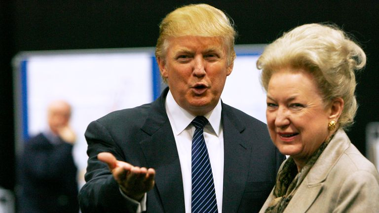 Maryanne Trump Barry is a former federal judge and the president's older sister