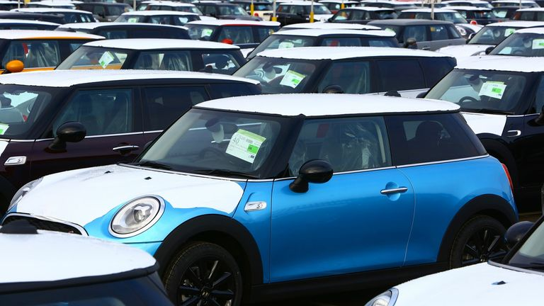 At least 560 jobs will be cut at Mini - the majority at its plant in Oxford