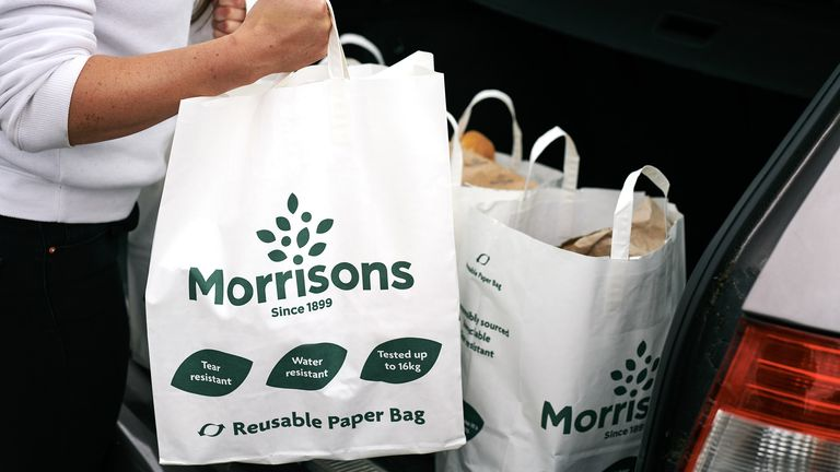 Supplied by Morrisons press office