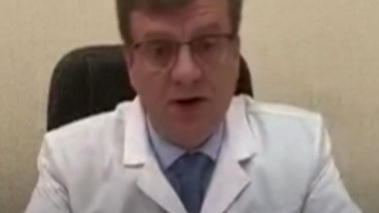 Alexei Navalny's doctors in Omsk say he probably has 'metabolic disorder'