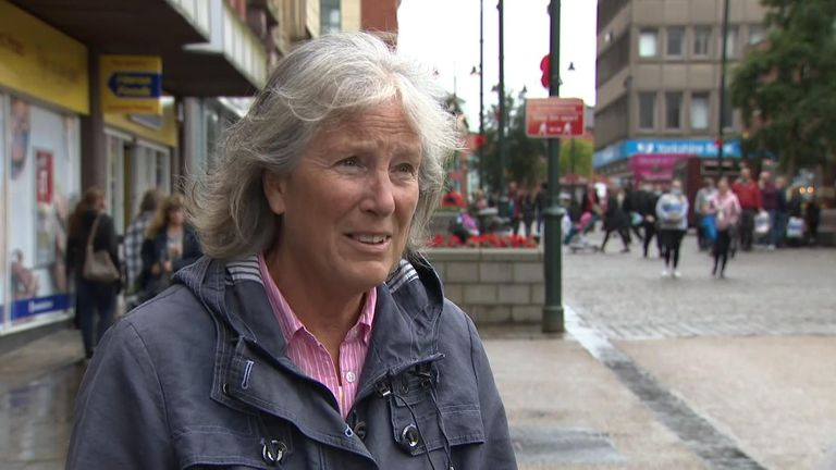 Elaine young, who is determined to carry on with her nine year old granddaughter's birthday celebrations