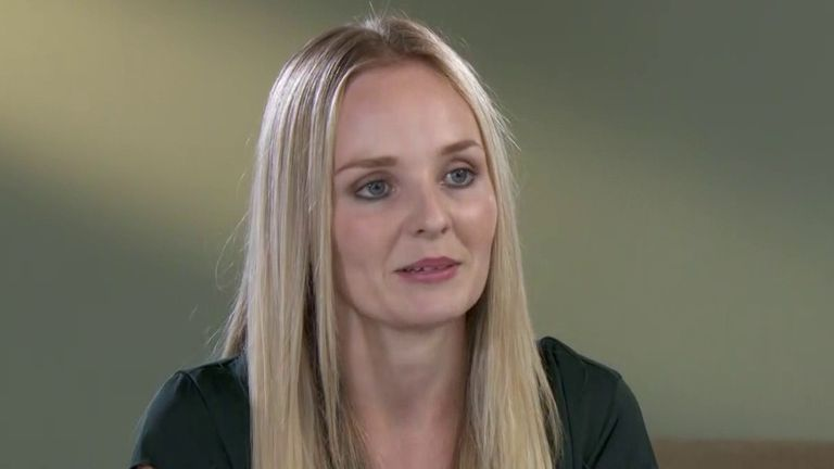 Lissie Harper says the justice system does not work properly