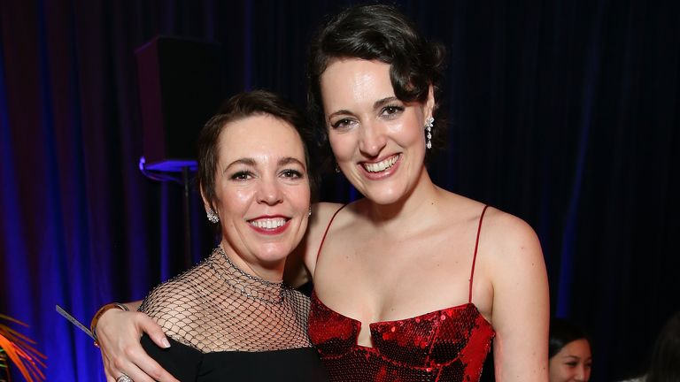 Phoebe Waller-Bridge and Olivia Colman say they are 'utterly blown away' by the donation